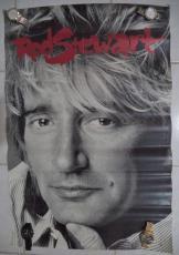 Rod Stewart Music Legend 1988 Warner Bros 23x34 Original Poster Authentic Rare