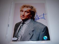 Rod Stewart Music Star Jsa/coa Signed 8x10 Photo