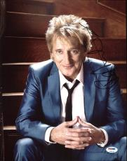 Rod Stewart Signed 11X14 Photo Autographed PSA/DNA #Z90139