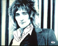 Rod Stewart Signed 11X14 Photo Autographed PSA/DNA #Z90143
