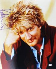 Rod Stewart Signed 16x20 Photo Autographed Psa/dna #u70567