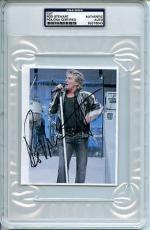 Rod Stewart Signed 4.5X5.5 Cut Autograph PSA/DNA Slabbed #83276043