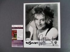 Rod Stewart Signed 8x10 Photo JSA COA