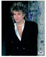 Rod Stewart signed 8x10 photo PSA/DNA autograph