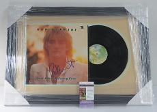 Rod Stewart Signed Album Foot Loose + Fancy Free FRAMED w/JSA AUTO FREE SHIPPING