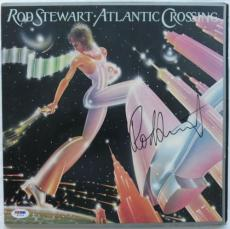 Rod Stewart Signed Atlantic Crossing Auto Vinyl Record Album PSA/DNA #W71524