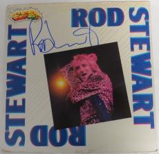 Rod Stewart Signed Authentic Autographed Album Cover PSA/DNA #AC55775