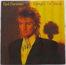 Rod Stewart Signed Authentic Autographed Album Cover PSA/DNA #Z15977
