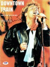 Rod Stewart Signed Authentic Autographed Sheet Music PSA/DNA #W71504