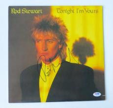 Rod Stewart Signed Authentic Autographed Vinyl Record Album (PSA/DNA) #I45264