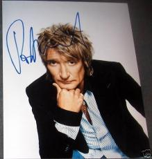 Rod Stewart Signed Autograph New Sexy Pose 8x10 Photo