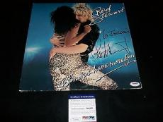 "ROD STEWART signed autographed ""BLONDES HAVE MORE FUN"" LP RECORD PSA/DNA COA!"