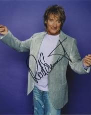 Rod Stewart Signed Autographed Color Photo Music Legend!!