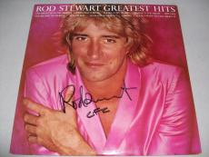 """ROD STEWART signed autographed """"GREATEST HITS"""" LP RECORD BECKETT COA (BAS)"""