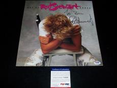 """ROD STEWART signed autographed """"OUT OF ORDER"""" LP RECORD PSA/DNA COA"""