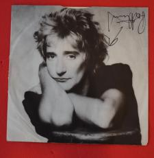 Rod Stewart  Signed Autographed Record Album Insert