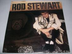 """ROD STEWART signed autographed """"ROD STEWART"""" LP RECORD BECKETT COA (BAS)"""