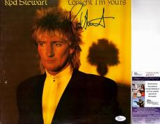 Rod Stewart Signed - Autographed Tonight I'm Yours LP Record Album Cover - JSA Certificate of Authenticity