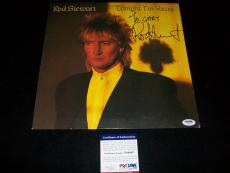 "ROD STEWART signed autographed ""TONIGHT IM YOURS"" LP RECORD PSA/DNA COA!"