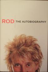 Rod Stewart Signed Book - PSA DNA