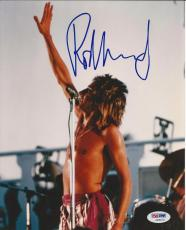 ROD STEWART Signed CONCERT 8 x10 PHOTO with PSA/DNA COA