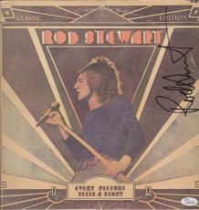 Rod Stewart Signed Every Picture Tells A Story Record Album Jsa Coa K42118