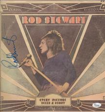 Rod Stewart Signed Every Picture Tells A Story Record Album Jsa Coa K42296