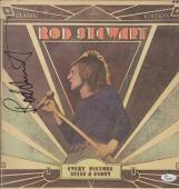 Rod Stewart Signed Every Picture Tells A Story Record Album Jsa Coa K42297