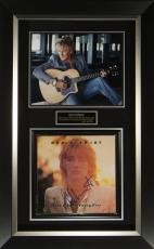Rod Stewart Signed Footlosse & Fancy Free Album Cover Di