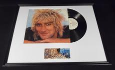 Rod Stewart Signed Framed 1978 Blondes Have More Fun Record Album Display