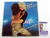 Rod Stewart Signed LP Record Album Blondes Have More Fun w/ JSA AUTO