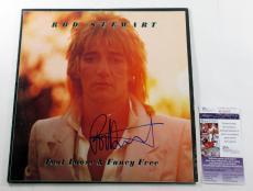 Rod Stewart Signed LP Record Album Foot Loose & Fancy Free w/ JSA AUTO