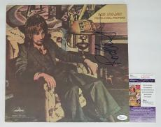Rod Stewart Signed Never A Dull Moment Record Album Jsa Coa M20165