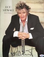"""ROD STEWART signed """"Rod Stewart in Concert"""" Program/Magazine-PSA #AB94376"""