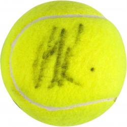 Andy Roddick Autographed French Open Logo Tennis Ball