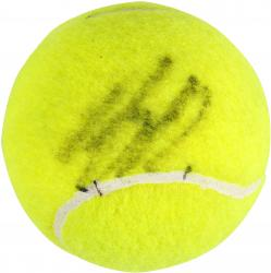 Andy Roddick Autographed US Open Logo Tennis Ball