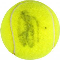 Andy Roddick Autographed Wimbledon Logo Tennis Ball