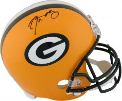 Aaron Rodgers Green Bay Packers Autographed Riddell Replica Helmet