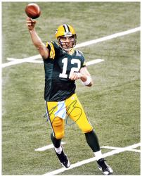 Green Bay Packers Aaron Rodgers Autographed 16'' x 20'' Photograph - Mounted Memories