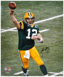 Green Bay Packers Super Bowl XLV Champions Aaron Rodgers Autographed 16'' x 20'' Photo - Mounted Memories