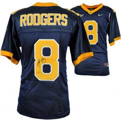 Aaron Rodgers California Golden Bears Navy Nike Jersey - Mounted Memories