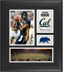 Aaron Rodgers California Bears Framed 15'' x 17'' Collage - Mounted Memories