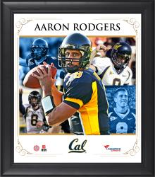 "Aaron Rodgers Cal Bears Framed 15"" x 17"" Core Composite Photograph"