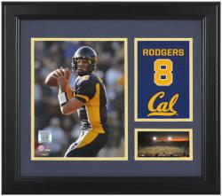 "Aaron Rodgers California Golden Bears Campus Legend 15"" x 17"" Framed Collage  - Mounted Memories"
