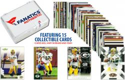 Aaron Rodgers Green Bay Packers Collectible Lot of 15 NFL Trading Cards
