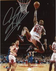 Dennis Rodman Signed Photo - 16x20