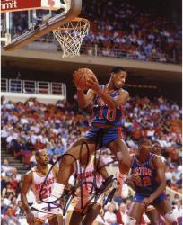 Dennis Rodman Detroit Pistons Autographed 8'' x 10'' Rebound Photograph