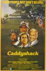Rodney Dangerfield Signed Authentic 22.5x35.5 Caddyshack Movie Poster SSG COA