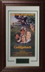 Rodney Dangerfield unsigned Caddyshack 11x17 Vintage Golf Movie Poster Leather Framed (entertainment/photo)