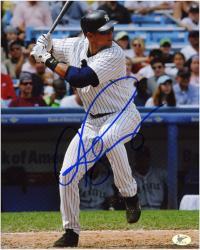 "Alex Rodriguez New York Yankees Autographed 8"" x 10"" Batting Photograph"
